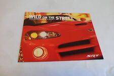 2003 Dodge SRT Original Car Sales Brochure Features Viper SRT-10 Ram & Neon SRT4