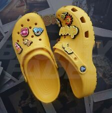 Justin Bieber Drew Crocs Size 4 5 6 Yellow Authentic Limited Edition