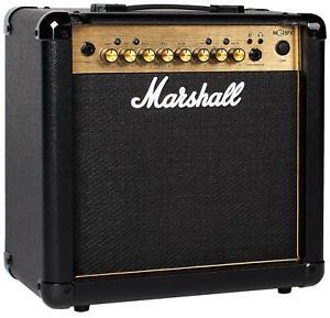 "Marshall MG15GFX Gitarren Combo 15 Watt RMS 4 Kanäle MP3 Line Input 8"" Speaker"