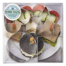 Anniversary House Shapes Sandwich Cutter Set 4 per pack