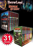 Goosebumps HorrorLandSeries & Scream Street Collection 31 Book Box Gift Set New