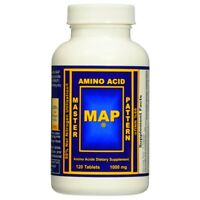 MAP Master Amino Acid Pattern 120 Tablets WORLD'S BEST MUSCLE BUILDING PROTEIN