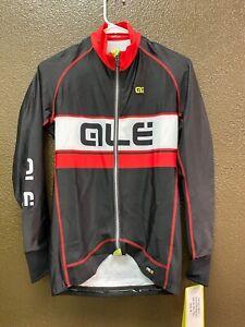 Alé Cycling PRR Long Sleeve Jersey - Black/Red/White - Men's Medium