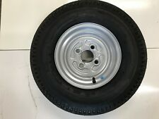 500x10 Trailer wheel and Tyre 4 Stud 100 pcd 4 ply