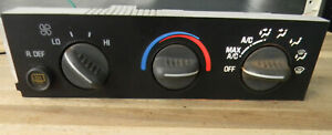 Chevy GMC Van Heater A/C Climate Control 25753628  w/ Rear Defog  E1021628