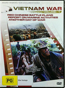 Vietnam War Volume 1 DVD - 3 DOCUMENTARIES War History Series EDU Region 4