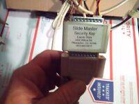 slidemaster lasertron arcade security key/dongle