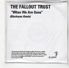 (FS396) The Fallout Trust, When We Are Gone (Blackeyes remix) - DJ CD