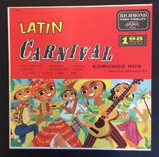 Edmundo Ros Or on Richmond B20023 – Latin Carnival Disc in N- condition, cover E