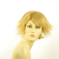 Perruque femme courte blond clair doré LOUNA LG26