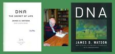 JAMES D WATSON Autographed Signed Book    DNA: The Story Of Life    Double Helix