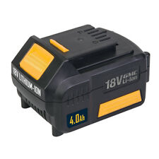 New 18V 4.0Ah Li-ion Batteries Compatible With GMC Drills Built In Charge Level