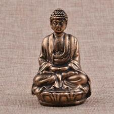 Resin Buddha Statue Seated Meditation Sculpture Religious Figurine Craft #1
