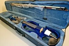 Aileen Electric Violin 4/4 Style VE008B + FOAMED CASE+ BOW + HEADPHONE+ ROSIN