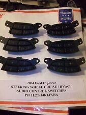 2004 Ford Explorer STEERING WHEEL CRUISE & AUDIO HVAC SWITCH s    1L2T-14K147-BA