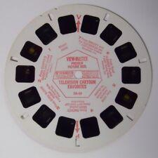 VINTAGE! 1960's View-Master Television Cartoon Favorites Demo Reel DR-59