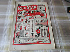 RED Star Weekly 20/06/1953 WOMANS Magazine Wow Wot a Life Cartoon Strip Cover