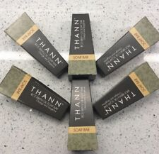 Thann Soap Rice Bran Oil Orange Tangerine Lot 6 Bar Face Body Travel Hotel Size