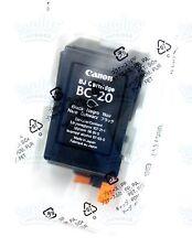 Genuine Canon BC-20 Black Ink BJC 2100 4200 C30 C20 C50 C2500 C530 C5500 C560