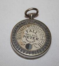 Watkins Fall Meter for Roll Film - Rare Exposure Meter from c1924