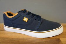 DC SHOE CO Mens Size 6 Tonik TX Blue Canvas Skate Trainers Brand New Boxed