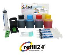 Kit  Recarga para Cartuchos de Tinta HP 301, 301 XL Negro y Color + 200 ML Tinta