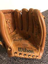 Vintage Wilson A2195 Jim Catfish Hunter Signature Leather Baseball Glove Mitt