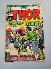 JOURNEY INTO MYSTERY #112 1ST THOR VS HULK CLASSIC BATTLE COVER ! Origin Of Loki
