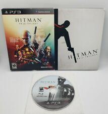 Hitman HD Trilogy Artbook Edition (Sony PlayStation 3, 2013) PS3 Slipcover CIB
