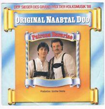 """Original Naabtal Duo - Patrone Bavariae/Lichter überm See / 7"""" Single von 1988"""