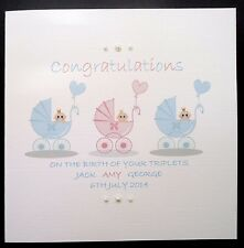 Personalised Congratulations Hand-Made Cards