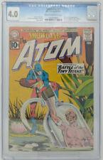 Showcase #34 ~ DC 1961 ~ CGC 4.0 ~ Origin & 1st Silver Age Atom Ray Palmer