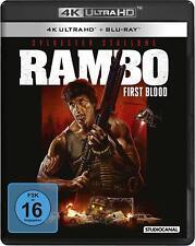 RAMBO: FIRST BLOOD (Sylvester Stallone) 4K Ultra HD + Blu-ray Disc NEU+OVP