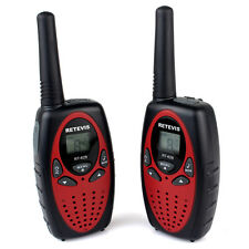 1 Paar Retevis RT628 Walkie Talkie für Kinder LC-Display 446MHz Chrismas Gift DE