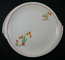Vintage Edwin Knowles Flower Pots Dinner Plate Yorktown Shape Tab Discontinued
