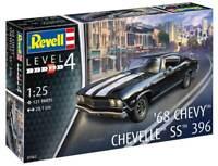 Revell Germany 1:25 1968 Chevy Chevelle SS 39 Plastic Model Kit 07662 RVL07662