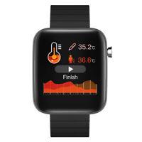 T68 Männer Sport Bluetooth 5,0 Blut Sauerstoff Smartwatch Smart Uhr Armband 1x