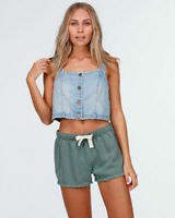 BILLABONG | Womens Gravel Blue Makin Moves Top NEW + TAGS [ Size AU 12 or US 8 ]