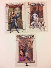 Lot of 3 Way Of The Rat #1 2 3 Crossgen Comics (2002) VF/NM
