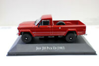 New 1/43 Scale Diecast Model Car Jeep J10 Pick Up 1983 For collection