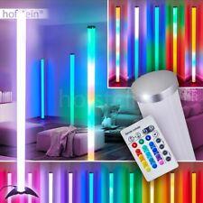 Design Stand Steh Lampe LED Farbwechsler Wohn Schlaf Raum Leuchten Fernbedienung