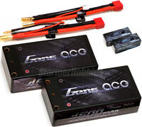 (NEW) 2 Gens Ace 2S 4600mAh SHORTY 7.4V 60C HardCase Lipo Packs w/Deans XB2C