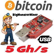 1 x BiFury 5Gh/s USB ASIC Miner Dualchip BitFury Bitcoin BTC Block Erupter money