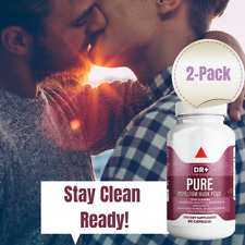 Colon Cleanse & Stay Clean with Psyllium Husk Compare to Pure for Men, 2-Pack