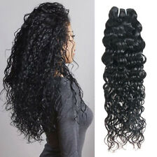 7A Water Wave Curl 1 Single  Bundle Deal Brazilian Real Virgin Raw Human Hair 26