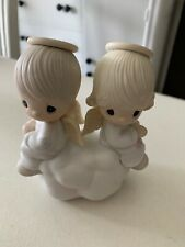 Precious Moments Figurine - But Love Goes On Forever Angels On Cloud E3115