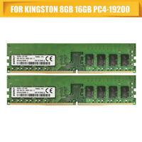 8GB For Kingston HyperX FURY DDR4 2400MHz CL15 19200 DIMM Desktop Memory