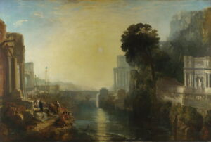 Joseph Turner Dido building Carthage Giclee Canvas Print Paintings Poster