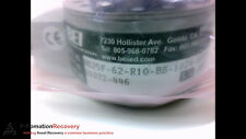 BEI INDUSTRIAL HS25F-62-R10-BS-1024-ABZC-28V/V-SM12-S OPTICAL ENCODER, N #190880