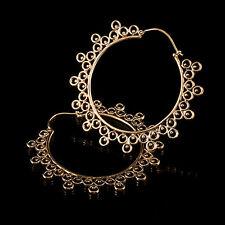 Tribal Brass Mandala Earrings (Code 228)